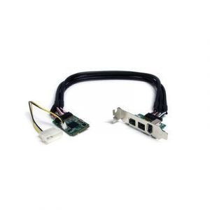 Startech 3 Port 2b 1a 1394 Mini Pci Express Firewire Card Adapter