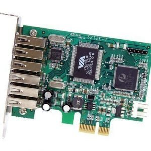 Startech 7 Port Pci Express Low Profile High Speed Usb 2.0 Adapter Card