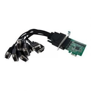 Startech 8 Port Native Pci Express Rs232 Serial Adapter Card With 16950 Uart