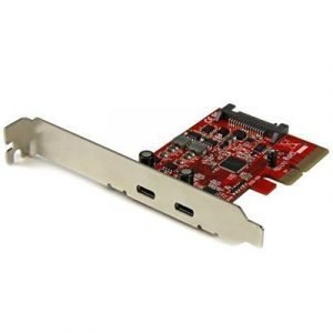 Startech Pci Express Card To 2 X Usb-c 3.1
