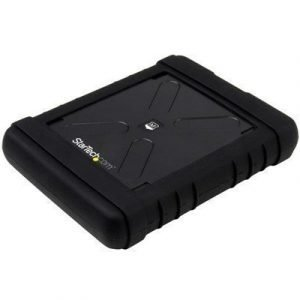 Startech Rugged Hard Drive Enclosure 2.5 Sata 6gb/s Usb 3.0 Musta