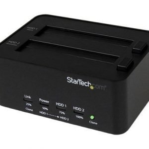 Startech Usb 3.0 Sata 2.5 / 3.5in Hdd/ssd Duplicator Docking Station