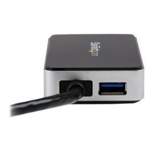 Startech Usb 3.0 To Dvi External Video Card Adapter With 1-port Usb Hub Ulkoinen Videoadapteri 1920 X 1200
