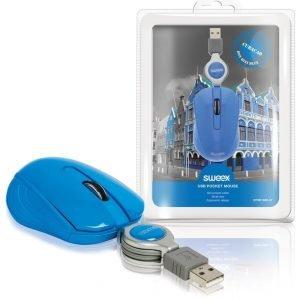 Sweex - taskukokoinen USB-hiiri Curaçao