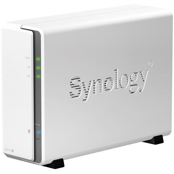 Synology DS115j Kompakti ja energiatehokas NAS-tallennin 1xkiintolevy