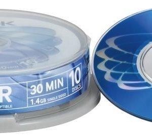 TDK DVD-R 8cm 10-pk (CakeBox)