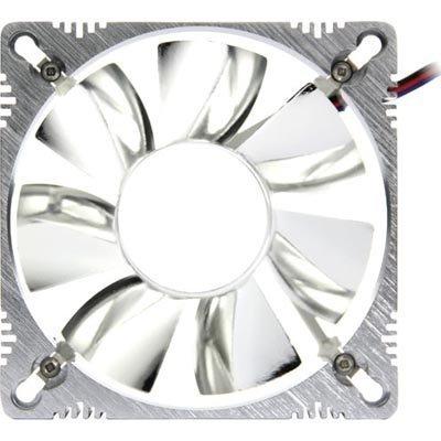TITAN kotelotuuletin 92x92x25 mm kulma kuulalaakeri 3-pin