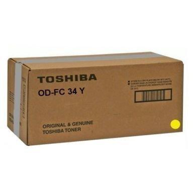 TOSHIBA Rumpu värijauheen siirtoon keltainen