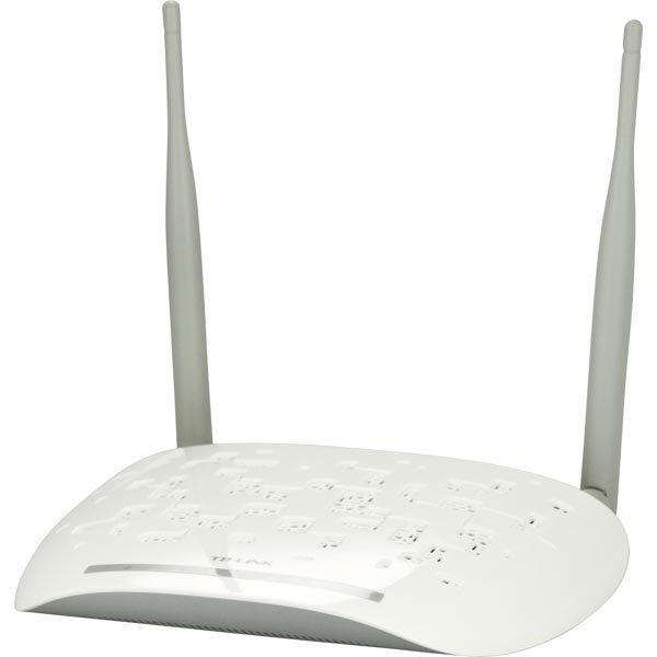 TP-LINK langaton ADSL2/2+-reititin 300Mps 802.11n valkoinen