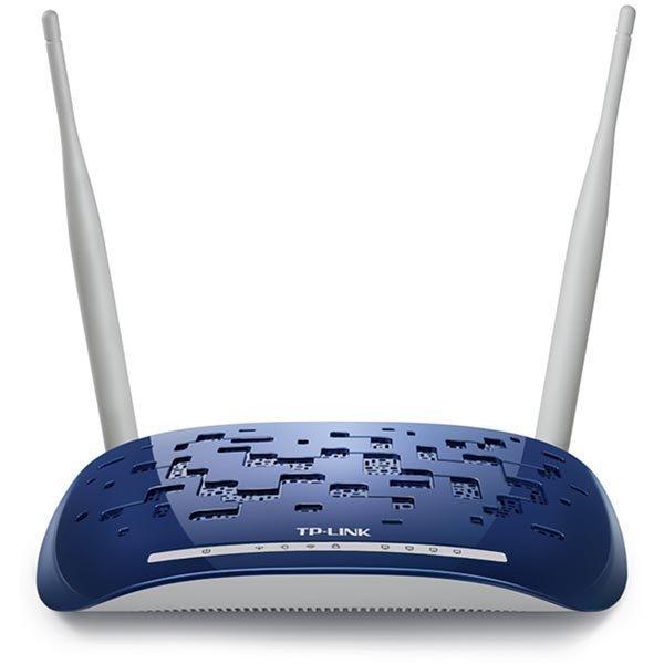 TP-LINK trådlös ADSL2+ router med 4-ports switch 802.11b/g/n 300Mb
