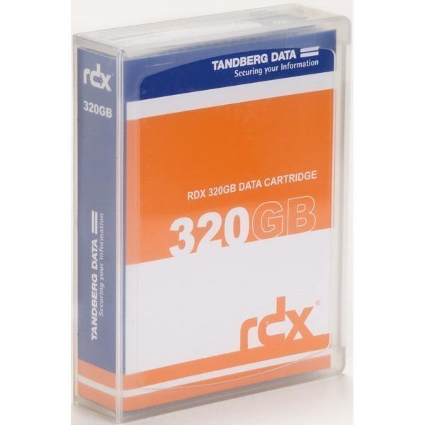 Tandberg RDX Cartridge RDX-kasetti 320GB kansi mukana