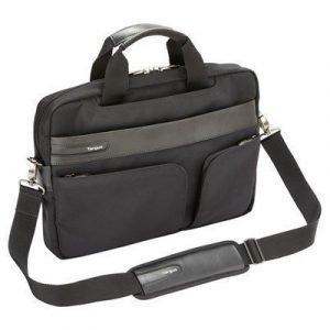 Targus 13.3 / 33.8cm Lomax Ultrabook Topload Case 13.3tuuma Polyuretaani Musta