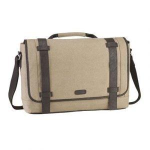 Targus Canvas Laptop Messenger Bag 15.6tuuma Karkea Kangas Ruskea