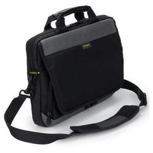 Targus Citygear 12-14 Slim Topload Laptop Case 14tuuma Nailon Musta