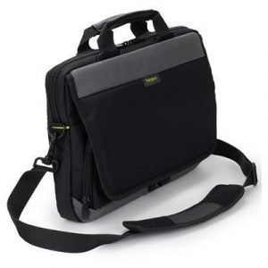 Targus Citygear Slim Topload Laptop Case 11.6tuuma Nailon Musta