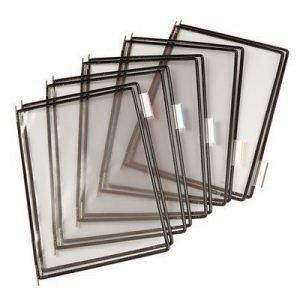 Tarifold Frames Pvc A4 Black 10pcs