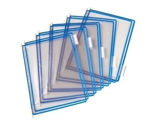 Tarifold Frames Pvc A4 Blue 10pcs