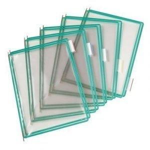 Tarifold Frames Pvc A4 Green 10pcs