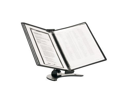 Tarifold Table Stand 3d Line Bord 10 A4 Black