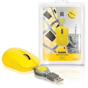 Taskukokoinen USB-hiiri Barcelona