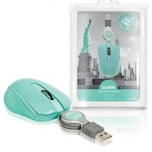 Taskukokoinen USB-hiiri New York