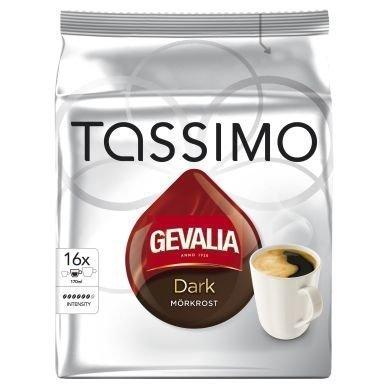 Tassimo Gevalia Tassimo tumma paahto kahvikapselit 16 annosta