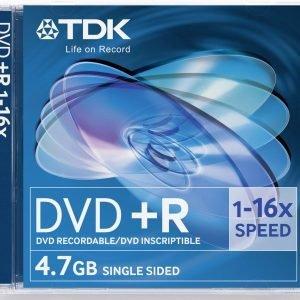 Tdk Dvd+R47 16x 5 Kpl