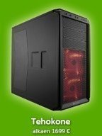 Tehokone - Core i7 6700K / R9 390X