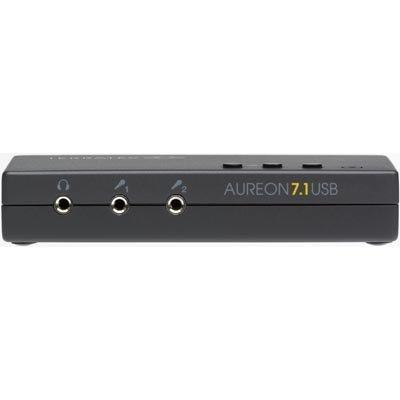 TerraTec Aureon 7.1 USB MKII USB-äänikortti 3 5mm & optiset liitok