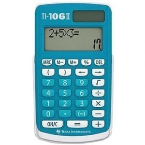 Texas Calculator Ti-106ii Solar