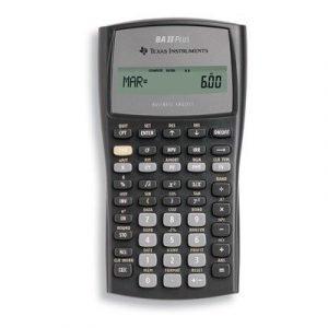 Texas Financial Calculator Ti-ba Ii Plus
