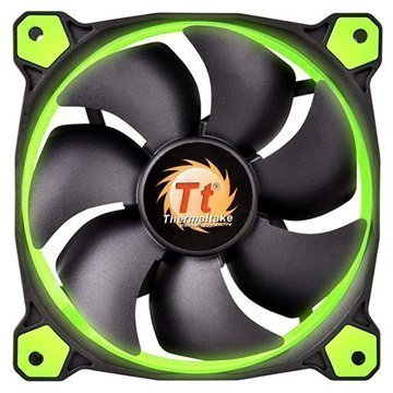 Thermaltake CL-F039-PL14GR-A Riing 14 Case Fan Black / Green