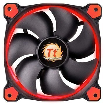 Thermaltake CL-F039-PL14RE-A Riing 14 Case Fan Black / Red