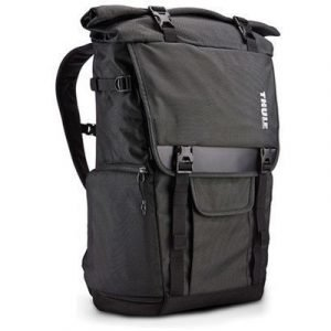 Thule Covert Dslr Rolltop Backpack Musta 15.6tuuma