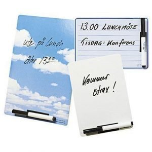 Time Butler International Bulletin Board Memoboard A5 White