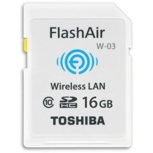 Toshiba Flashair W-03 Sdhc 16gb Ieee 802.11 B/g/n