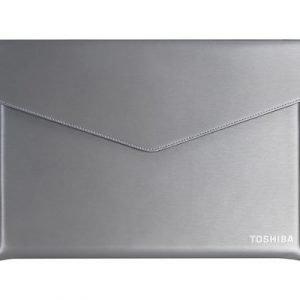 Toshiba Ultrabook Sleeve 13.3tuuma Polyuretaani Nahka Harmaa