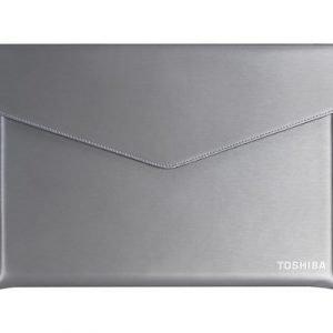 Toshiba Ultrabook Sleeve 15.6tuuma Polyuretaani Nahka Harmaa