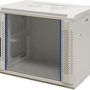 Toten 19 Wall Cabinet 6u 600x450 Glassdoor White
