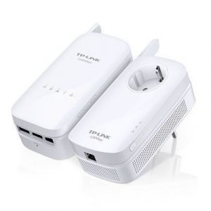 Tp-link Av1200 Gigabit Powerline Ac Wi-fi Kit Twin Pack 1200mbps