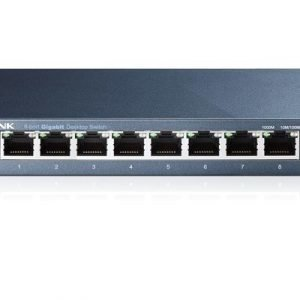 Tp-link Tl-sg108 8-port Metal Gigabit Switch