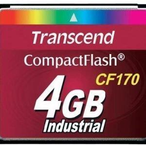 Transcend Cf170 Industrial Compactflash 4gb