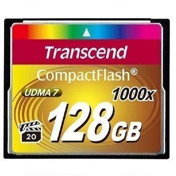 Transcend CompactFlash Ultimate Muistikortti 1000x UDMA7 128GB