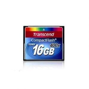Transcend Flash-muistikortti Compactflash 16gb