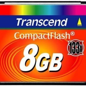 Transcend Flash-muistikortti Compactflash 8gb