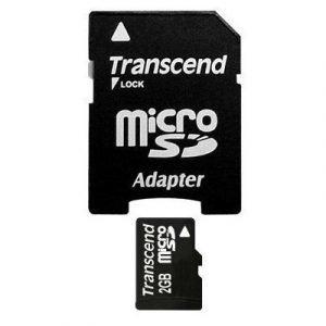 Transcend Flash-muistikortti Microsdhc 2gb