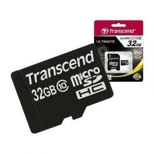 Transcend Flash-muistikortti Microsdhc 32gb