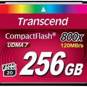 Transcend Premium Compactflash 256gb