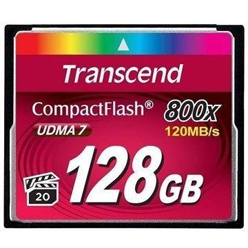 Transcend TS128GCF800 800X Compact Flash Muistikortti 128Gt