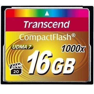 Transcend TS16GCF1000 1000X Compact Flash Muistikortti 16Gt